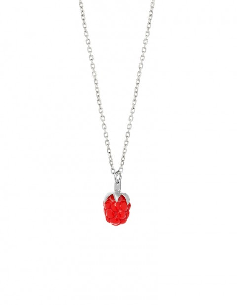 Red raspberry necklace RSP02-R/S