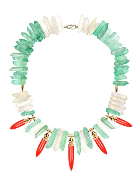 Oxomo red necklace TR18-GP/RPX/WTQ/GRQ/S