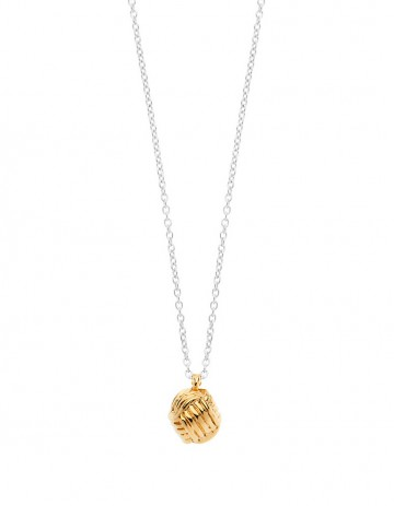 Little Lash Ball Knot Necklace LL02-GP