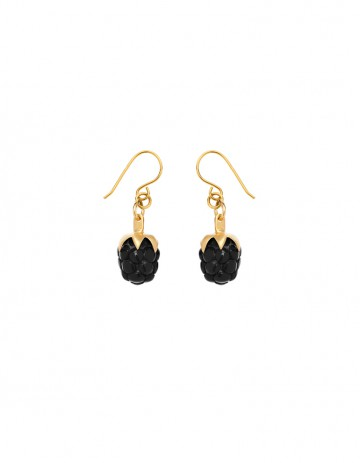 Blackberry earrings RSP00-B/GP