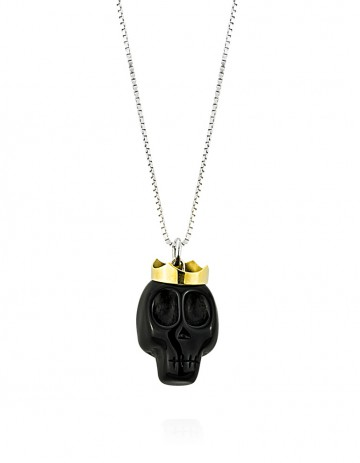Skull Necklaces SK18 Black White
