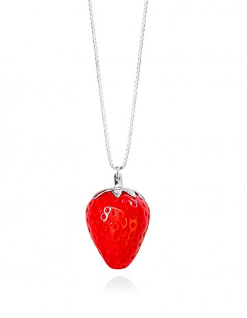 Strawberry Necklace ST02/3 Red