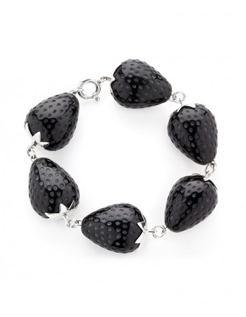 Strawberry Bracelet ST09 Black