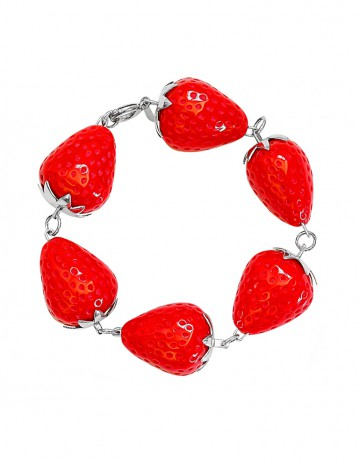 Strawberry Bracelet ST09 Red