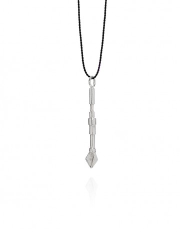 pow wow small arrow necklace PW01-S/BLK