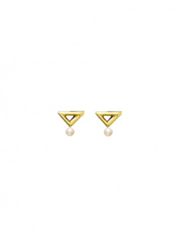 Kawak earrings short TR01- GP/SWP