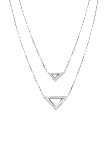 Ikal necklace double TR08-S/S