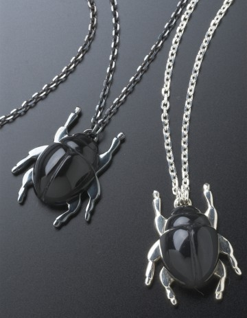 Beetle Necklaces BE12 black